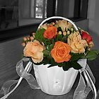 Flower Girl Basket by RodriguezArts