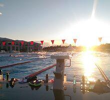 Swimming is life by Jonas Gram-Lange
