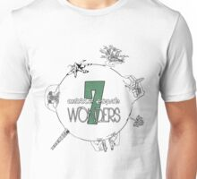 The 7 Wonders of Middle Earth Unisex T-Shirt