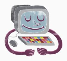 Computer guy Kids Clothes