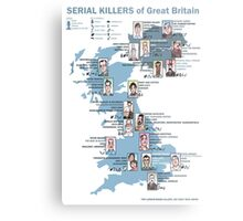Serial Killers of Great Britain Metal Print