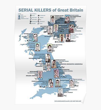 Serial Killers of Great Britain Poster