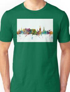 Edinburgh Scotland Skyline Unisex T-Shirt
