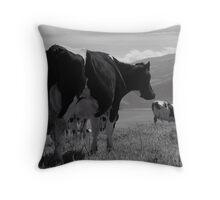 Cows, Azores islands Throw Pillow
