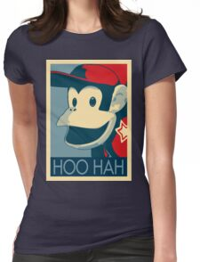 Diddy Kong - Hoo Hah Womens Fitted T-Shirt
