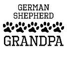 German Shepherd Grandpa by kwg2200