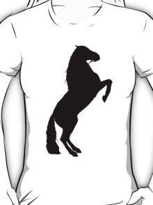 Andalusian Stallion Silhouette T-Shirt