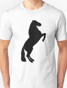 Andalusian Stallion Silhouette Unisex T-Shirt