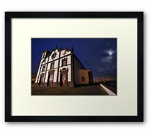 Sao Roque church, Azores Framed Print