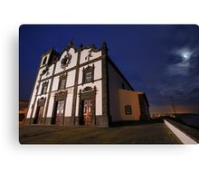 Sao Roque church, Azores Canvas Print