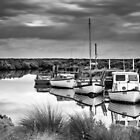 Tooradin Boats  by Christine  Wilson Photography