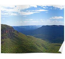 Elysian Rock Lookout - Blue Mountains Poster
