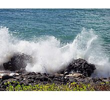 Molokai Splash Photographic Print