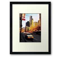 Recollections of the Magnificent Mile, Windy City Framed Print
