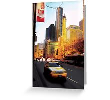 Recollections of the Magnificent Mile, Windy City Greeting Card