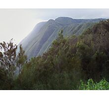 Molokai mountain Photographic Print