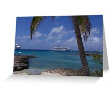 Grand Cayman Scene Greeting Card