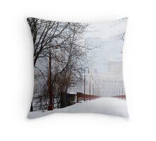 Stone Arch Bridge- Minneapolis Throw Pillow