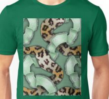 Leopards'n Lace - Green Unisex T-Shirt