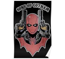 Sons of Gotham - Red Poster