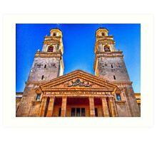 Basilica of San Pascual in Vila-real, Spain Art Print