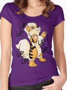 Up! Up! Women's Fitted Scoop T-Shirt