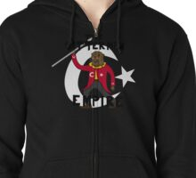 The Ottoman (otterman) Empire with title Zipped Hoodie