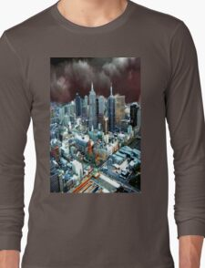 Melbourne Skyline Long Sleeve T-Shirt