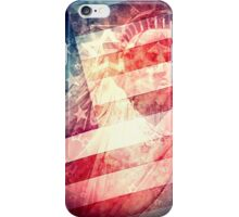 Patriotic Liberty Collage iPhone Case/Skin
