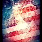 Patriotic Liberty Collage by morningdance