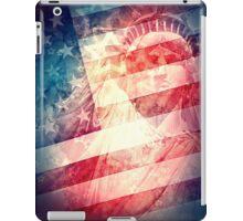 Patriotic Liberty Collage iPad Case/Skin