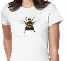 Bombus Terrestris or just Bee Womens Fitted T-Shirt