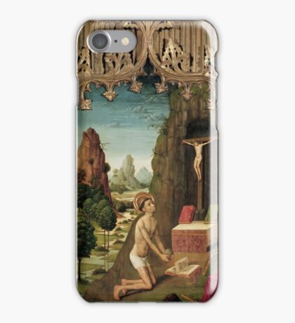 Master of La Seu d'Urgell - 1495, 188 x 102 cm iPhone Case/Skin