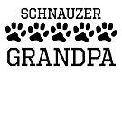 Schnauzer Grandpa by kwg2200