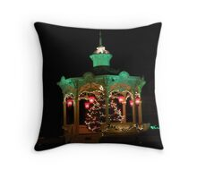 Bellville Bandstand Ringing in the Holidays! Throw Pillow
