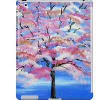 Sakura and snow iPad Case/Skin