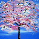 Sakura and snow by cathyjacobs