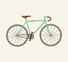 Green Fixie by KarinBijlsma