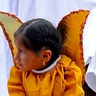 Cuenca Kids 593 Painting by Al Bourassa