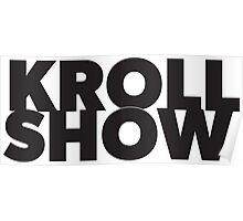 Kroll Show Title Poster