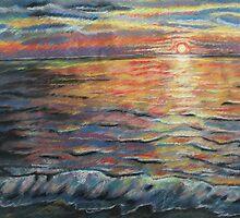 Sunrise on Ocean Isle Beach by lindybird