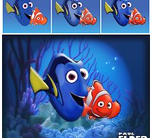 Finding Nemo (Marlin and Dory) by Paul Elder