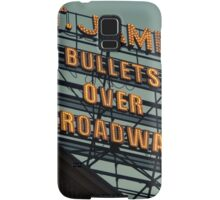 St. James Theater - Bullets Over Broadway Musical Neon Sign - Kodachrome Postcards  Samsung Galaxy Case/Skin