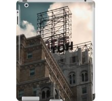 Hotel neon sign in Manhattan, NYC - Kodachrome Postcard  iPad Case/Skin
