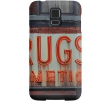 Drugstore Neon Sign in the East Village - Kodachrome Postcards  Samsung Galaxy Case/Skin