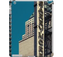 Barrymore neon sign in Manhattan, NYC - Kodachrome Postcard  iPad Case/Skin