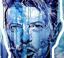 DAVID BOWIE - outline by ARTito