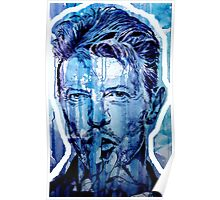 DAVID BOWIE - outline Poster