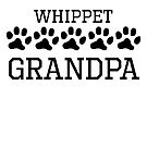 Whippet Grandpa by kwg2200