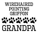 Wirehaired Pointing Griffon Grandpa by kwg2200